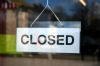 farewell closed sign