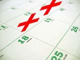 Farewell or retirement countdown calendar