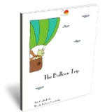 The Balloon Trip farewell poem card