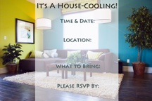 HouseCooling Party Invitation