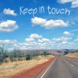 keep in touch on the open road