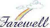 farewell rainbow