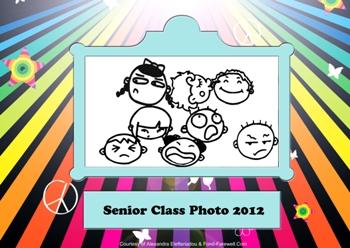 graduation scrapbook page