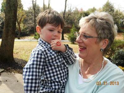 Russ tugs at grandma's heartstrings !