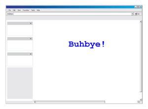 final screen message