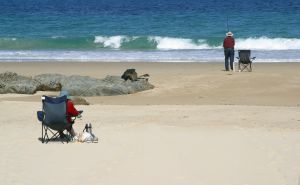 beach retirement fishing
