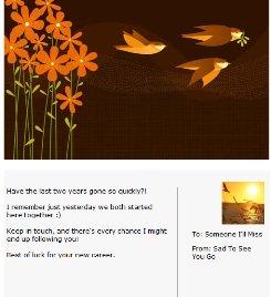 farewell ecard example